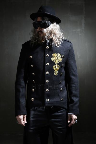 금장 와펜 나폴레옹 연미복 코트