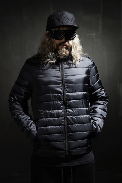 초경량 슬림 라인 패딩 자켓
