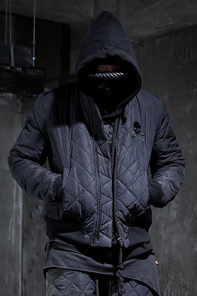 ByTheR 퀼팅 패딩 봄버 자켓